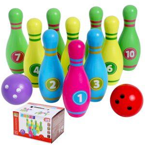 Bowling de madera para nivel inicial